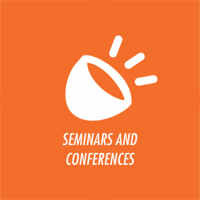 icon for seminars and conferences
