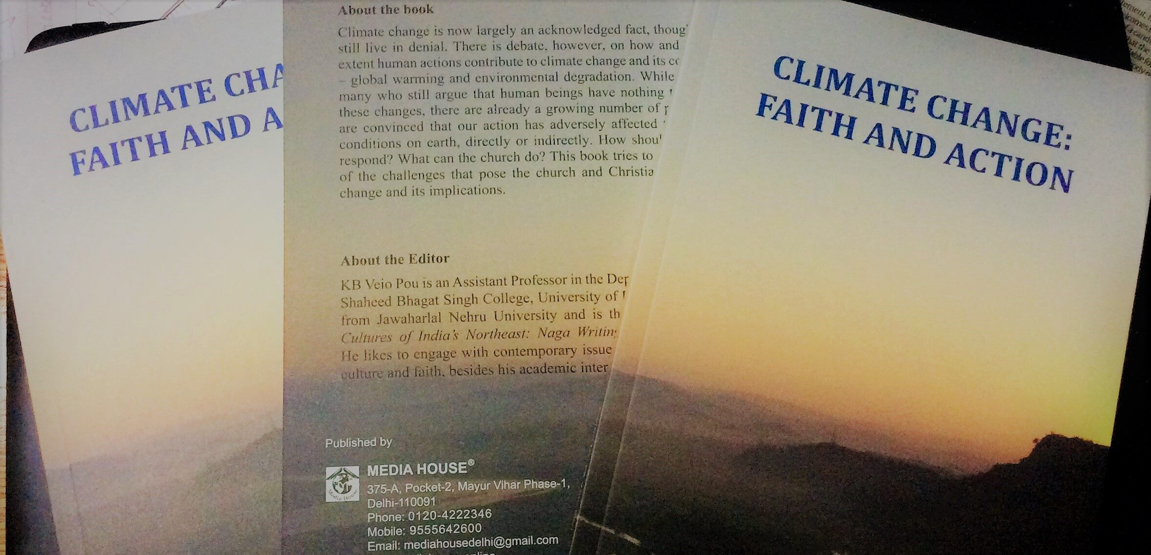 CLIMATE CHANGE: FAITH AND ACTION
